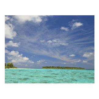 View of Funadoo Island from Funadovilligilli 3 Postcard