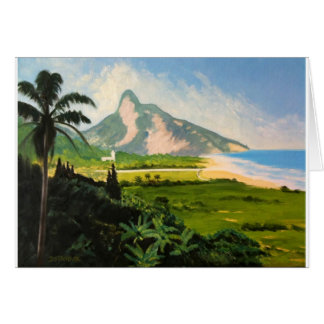 View of Gavea Beach Card