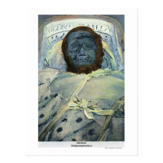 View of General Ossipumphnoferu Mummy Postcard