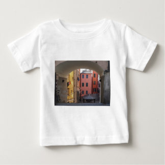 View of Genoa old town in Italy Baby T-Shirt
