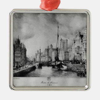 View of Ghent Christmas Ornament