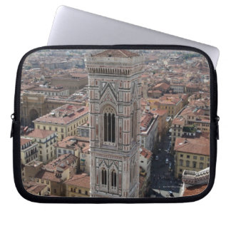 View of Giotto's Bell Tower (Campanile di Laptop Sleeve