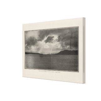 View of Golden Gate looking west Canvas Print