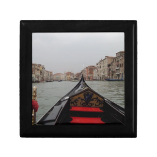 View Of Grand Canal From A Gondola Gift Box