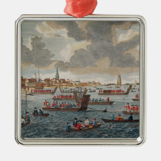View of Gravesend with troops Christmas Ornament