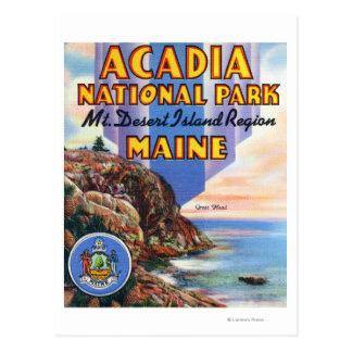 View of Great Head and Maine Seal Post Cards