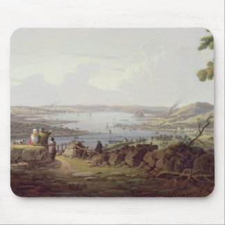 View of Greenock, Scotland Mouse Mat