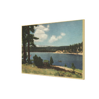 View of Grout Bay from Dana Point Canvas Print