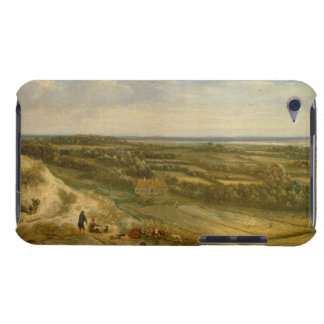 View of Haarlem from the Dunes (oil on canvas) iPod Case-Mate Case