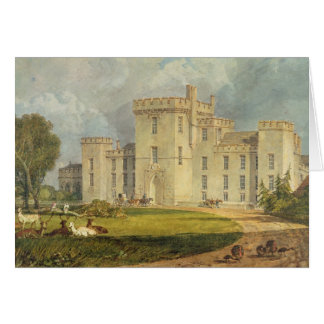 View of Hampton Court from the North-west, c.1806 Card