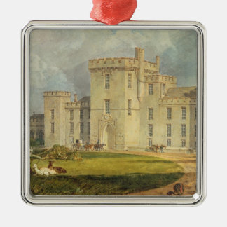 View of Hampton Court from the North-west, c.1806 Christmas Ornament