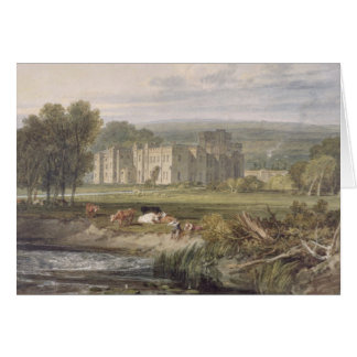 View of Hampton Court, Herefordshire, from the sou Greeting Card