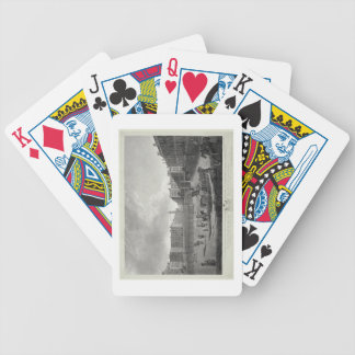 View of Hanover Square, engraved by Robert Pollard Bicycle Playing Cards