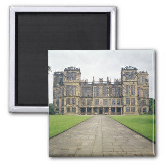 View of Hardwick Hall Square Magnet