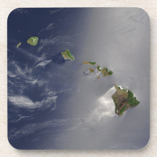 View of Hawaii from Space Beverage Coaster