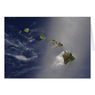 View of Hawaii from Space Card