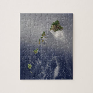View of Hawaii from Space Jigsaw Puzzle