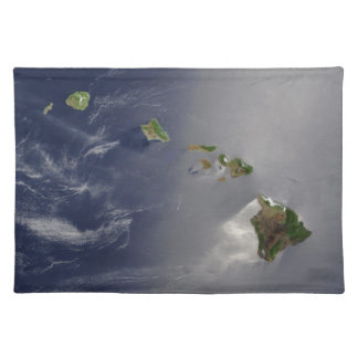 View of Hawaii from Space Placemat