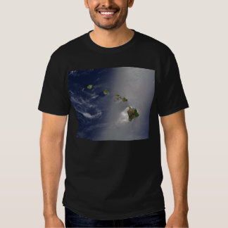 View of Hawaii from Space Shirts