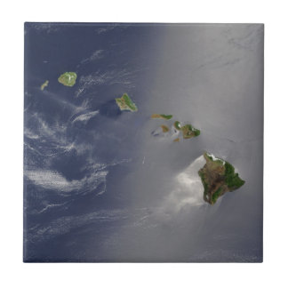 View of Hawaii from Space Tile