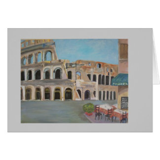 View of he Coliseum Greeting Card