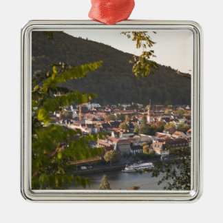 View of Heidelberg's Old Town Christmas Ornament