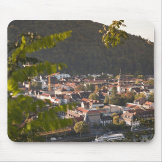 View of Heidelberg's Old Town Mouse Mat