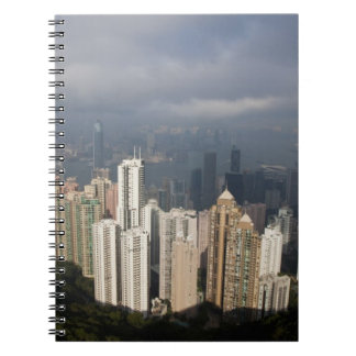View of Hong Kong from The Peak Notebook