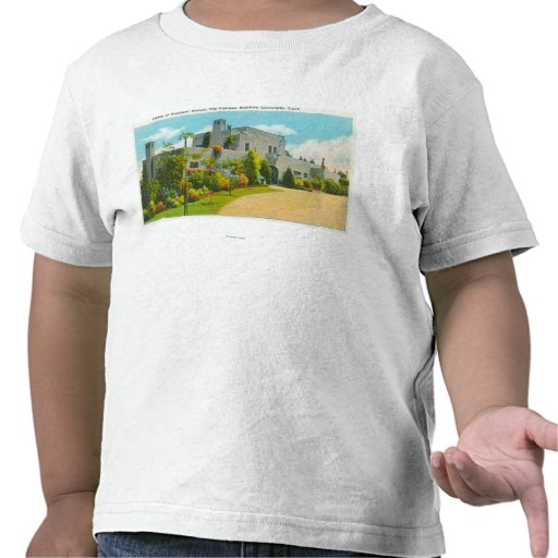 View of Hoover's Home, Stanford U Campus T Shirt