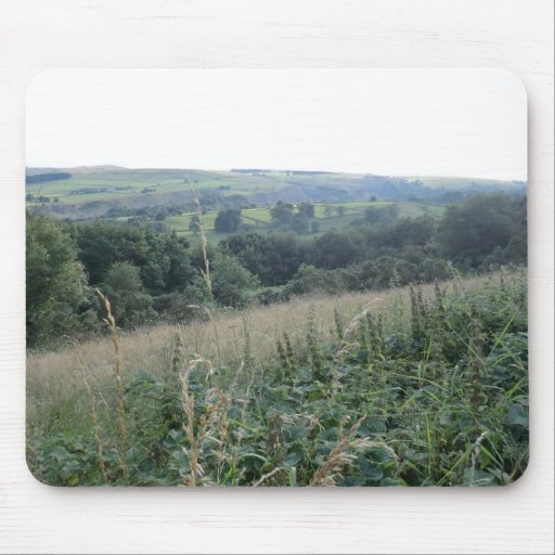 View of Hope Valley, Derbyshire Dales Mouse Pad