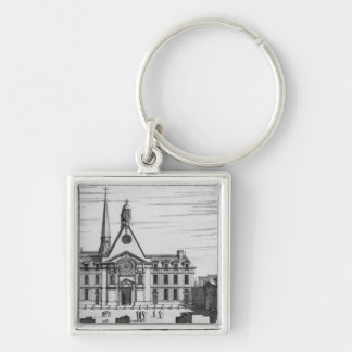 View of Hopital des Incurables Key Chains