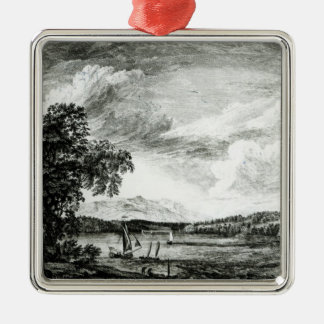 View of Hudson's River of Pakepsey Christmas Ornament