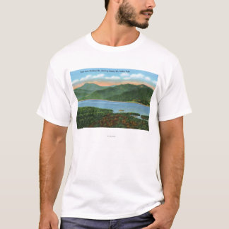 View of Indian Lake and Snowy Mountain T-Shirt