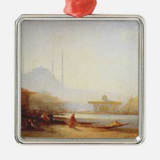 View of Istanbul, 1864 (oil on canvas) Christmas Ornament