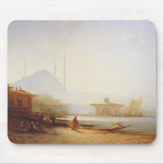View of Istanbul, 1864 (oil on canvas) Mouse Mat