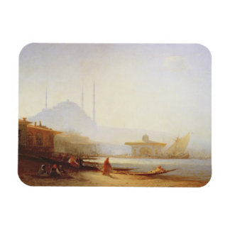 View of Istanbul, 1864 (oil on canvas) Rectangular Photo Magnet