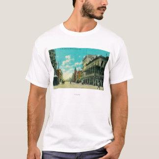View of J and Mariposa Street CornerFresno, CA T-Shirt
