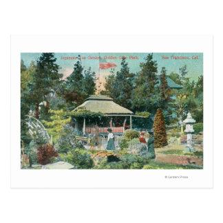 View of Japanese Tea Garden Postcard