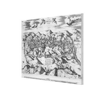 View of Jerusalem, 1570 ? Canvas Print