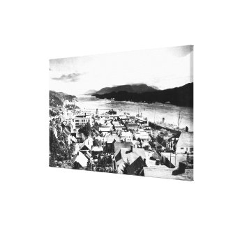View of Ketchikan, Alaska looking Southeast Canvas Print