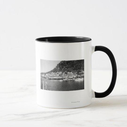View of Ketchikan, Alaska Waterfront Photograph Mug