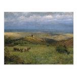 View of Kronberg in Taunus, Germany, 1879 Postcard