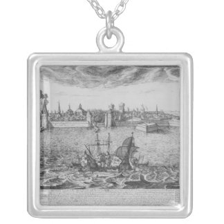 View of La Rochelle Silver Plated Necklace