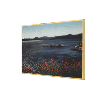 View of Lake from the Northern Shores Canvas Print