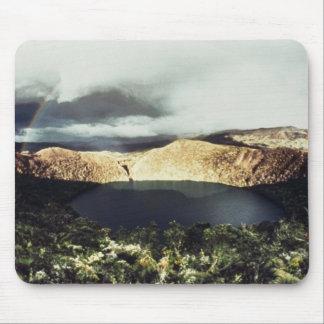 View of Lake Guatavita Mouse Mat