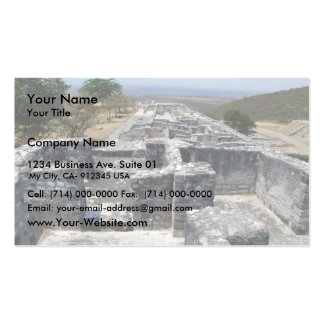 View Of Large Old Fort Business Card Templates