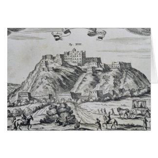 View of Lhasa, capital of Tibet Card