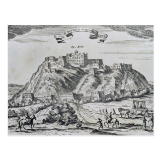 View of Lhasa, capital of Tibet Postcard