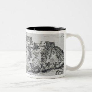 View of Lhasa, capital of Tibet Two-Tone Coffee Mug