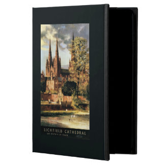 View of Lichfield Cathedral iPad Air Cover